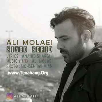 متن آهنگ جدید سیاه و سفید از علی مولایی