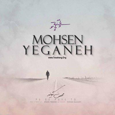 متن آهنگ جدید محسن یگانه به نام پا به پای تو