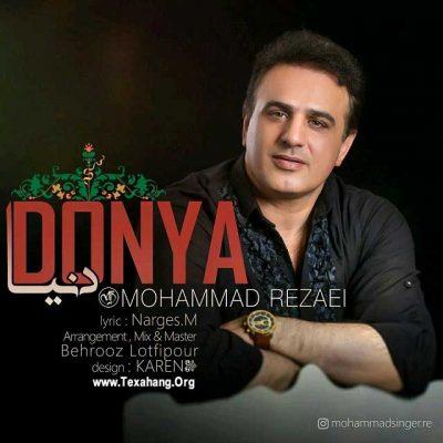 متن آهنگ جدید محمد رضایی به نام دنیا