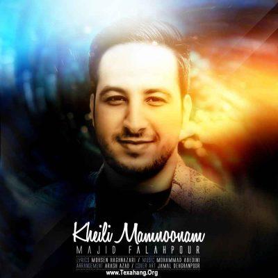 متن آهنگ جدید مجید فلاح پور به نام خیلی ممنون