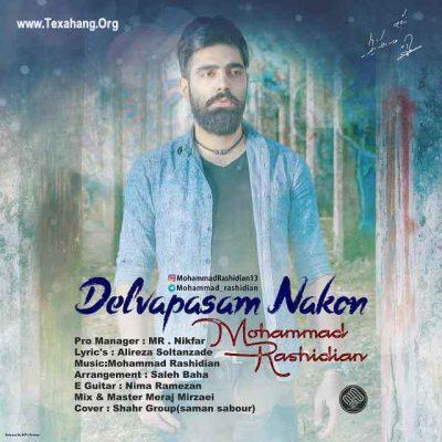 متن آهنگ جدید محمد رشیدیان به نام دلواپسم نکن