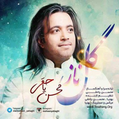 متن آهنگ گل ناز از محسن یاحقی